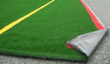 Так выглядит искусственное покрытие футбольного поля Фото 101dizain.ru