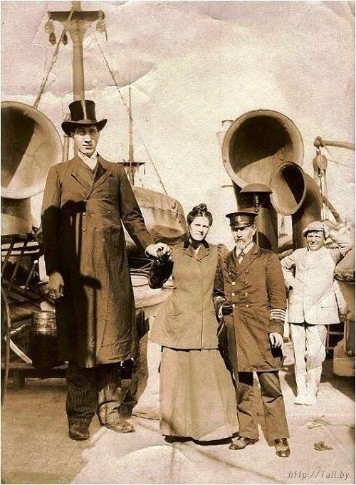 Федор Андреевич Махнов - самый высокий человек в мире за всю историю