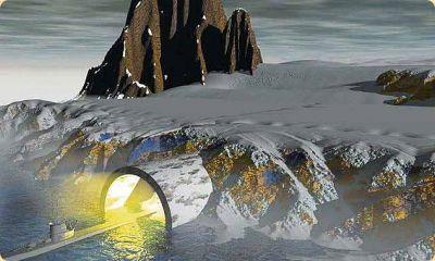 Вход в пещеры Антарктики. Источник:izzhizni.ru