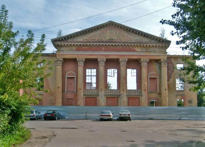 Дворец культуры 1958 года. Стройка