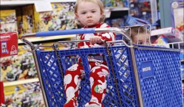 Страсть к потребительству начинается с детства. Фото  1tvnet.ru