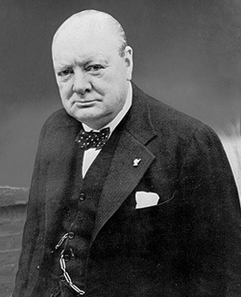 Премьер министр Черчилль. Источник:nobeliat.ru