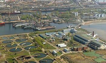 Очистные сооружения. Фото photos.wikimapia.org