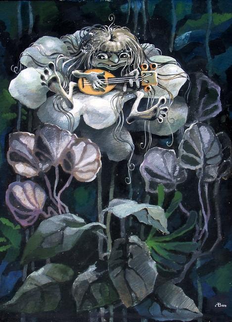 Александр Вышка. Автопортрет с другим лицом и грязными ногами в белом цветке