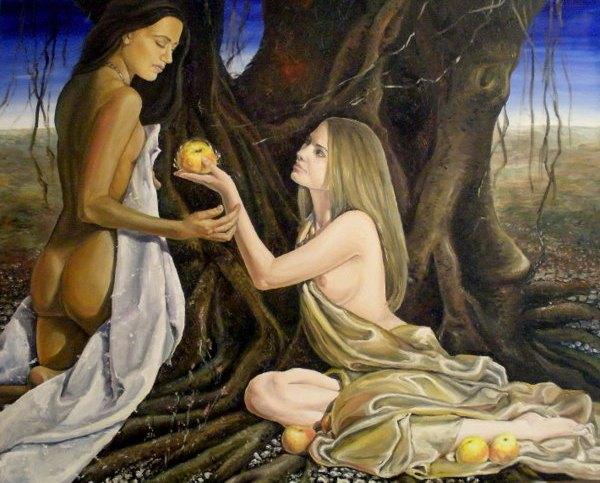 Евгения Чеботарёва. Райский плод