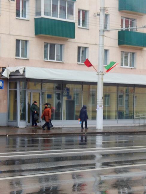 Флаги на улице Ленина