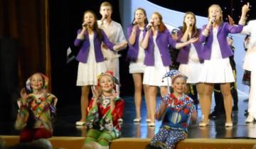 поет молодежь концерт 5.11.2015г. в Витебске
