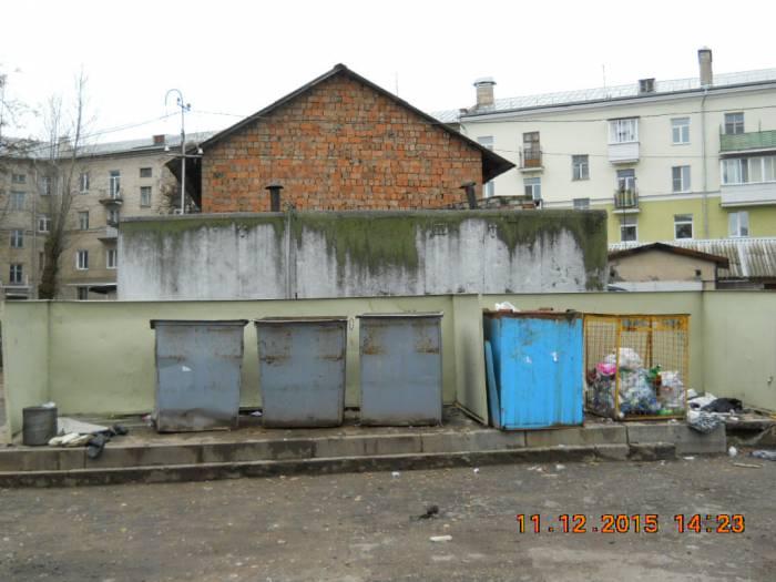 Двор дома 4 по ул. Урицкого