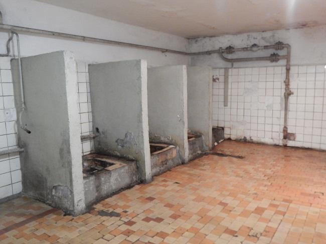 Со времен Союза туалет практически не изменился