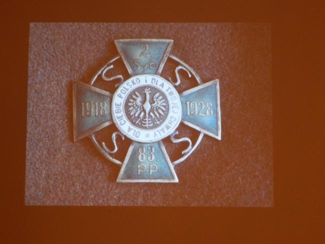 Этот знак носили участники битвы при Кобрине