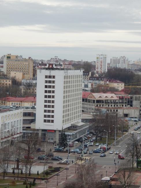 Витебск с высоты Успенского собора