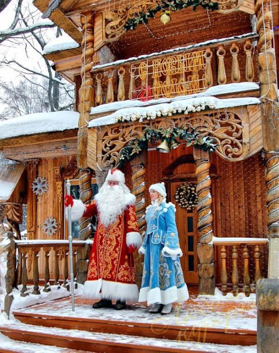В резиденции Деда Мороза. Фото: lyubimie-kurorti.ru