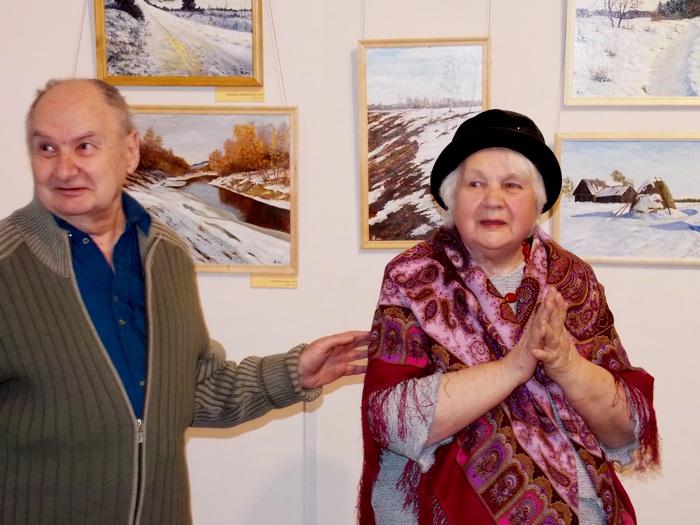 Супруги Феликс Кузнецов и Марина Боборико