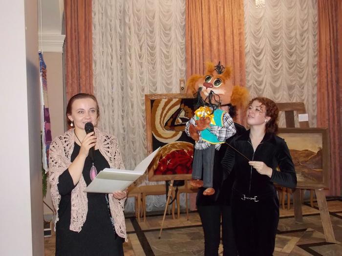 Людміла Сіманёнак, Юлія Гарэцкая, Марыя Кавалёва і кот Банцік