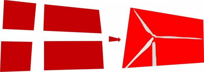 Новый датский флаг