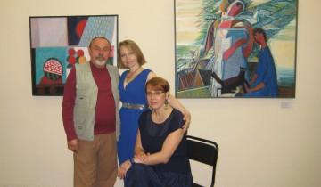 Олег Сковородко с представителями культурной общественности в Череповце