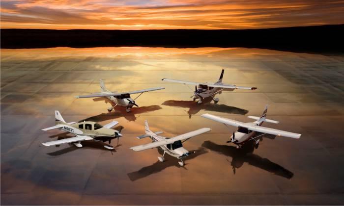 Самолеты Cessna 01