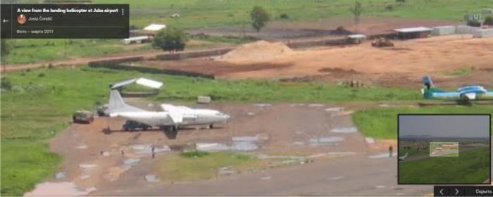Состояние полосы и рулежных дорожек аэропорта Джуба оставляет желать лучшего