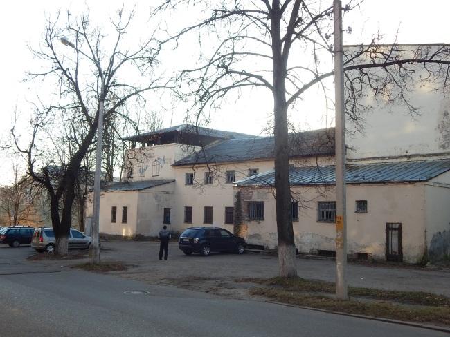 Бывший клуб металлистов где было гетто в Витебске