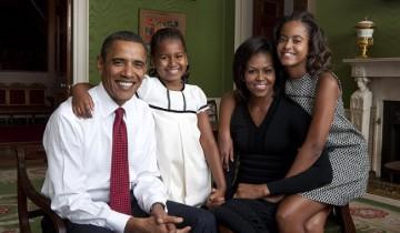 Семья Обамы. Фото top-antropos.com
