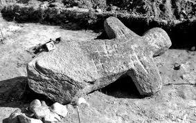 Идол Мары со спины. Источник:google.by