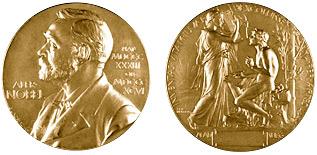 Нобелевская медаль по литературе.Источник: nobeliot.ru