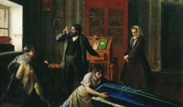 В лавке гробовщика. Картина Генриха Семирадского. Фото liveinternet.ru