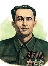 первый кавалер ордена Славы Исраелян.sampo Источник:rupor.sampo.ru