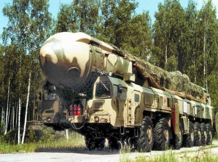 Стратегическая ракета Тополь. Источник:belarmy.by