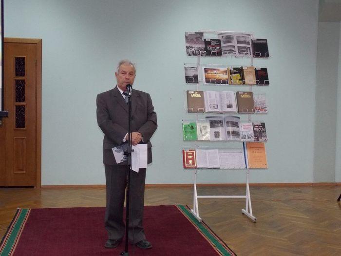 Аркадий Подлипский в Витебской областной библиотеке