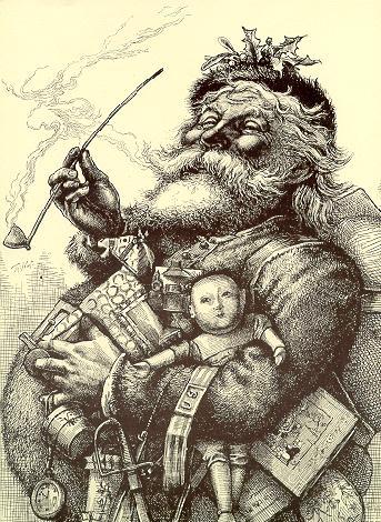 Санта-Клаус Томаса Наста. Источник materinstvo.ru