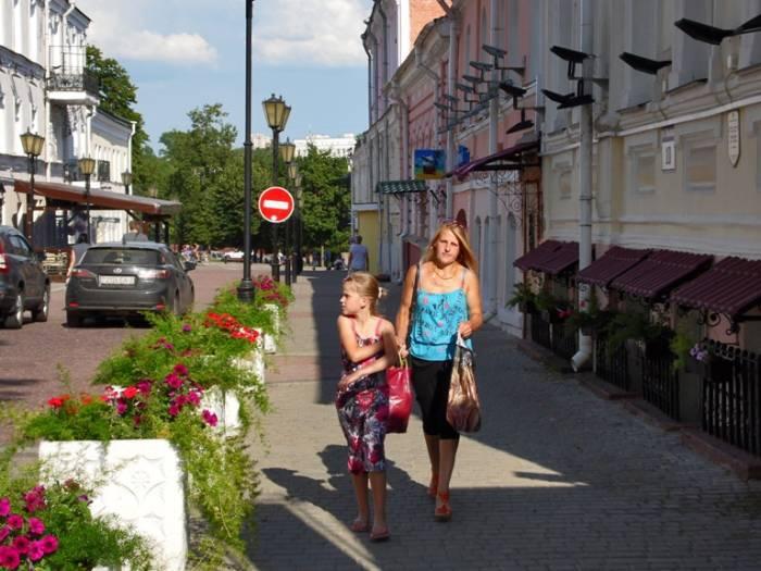 На улице Крылова