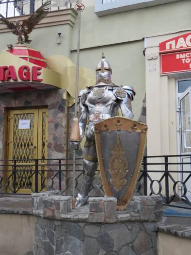Рыцарь: железный снаружи, бетонный внутри