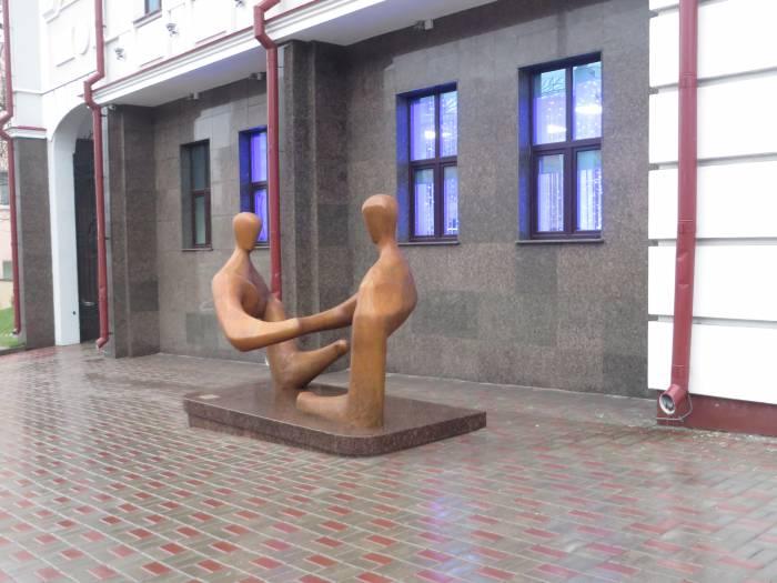 "Скульптура ""Диалог"""