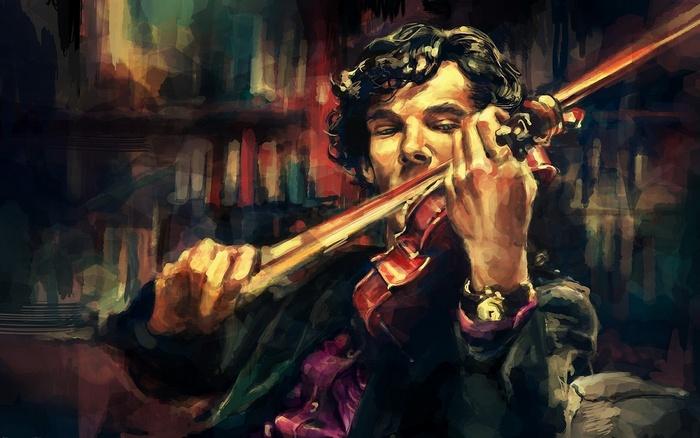 """Образ Шерлока Холмса из британского телесериала """"Шерлок"""". Источник: http://artelio.ru/"""