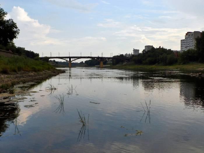 На Двине, вид в сторону Кировского моста