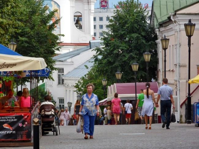 На улице Суворова
