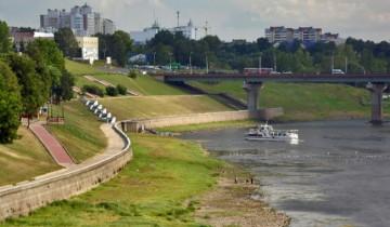 Вид с Кировского моста