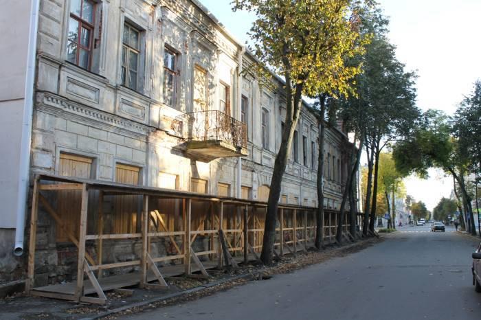 Здание по улице Димитрова 10, снято 28 сентября 2014 года