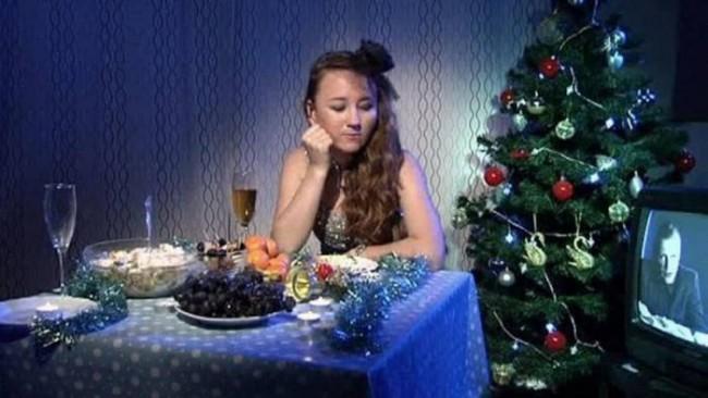 Одиночество на Новый год - не повод впасть в уныние. Фото gigamir.net