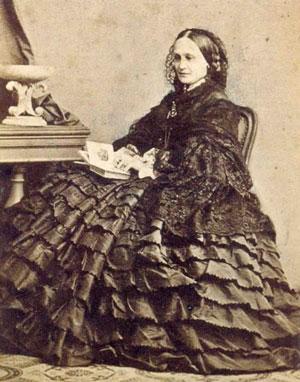 Н. Ланская фото начала 1860-х. Источник: 7 ya.ru