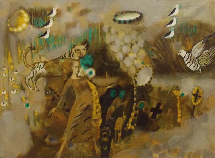 А. Ізаітка. Калядны карагод. 1992 г.