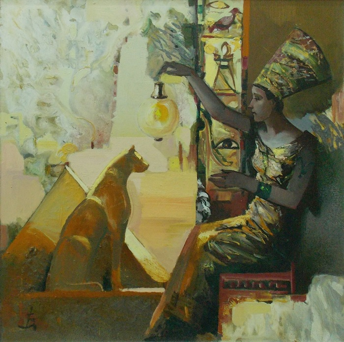 А. Изоитко. Ощущение Египта. 2004 г.