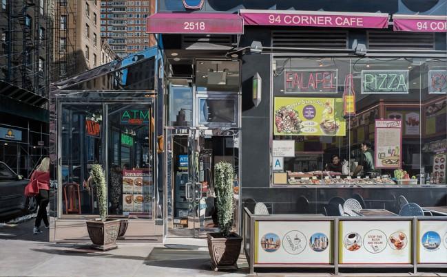 Richard Estes •Corner Café,2014-2015