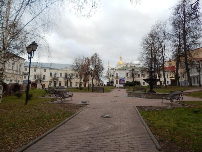 Сквер по улице Маяковского