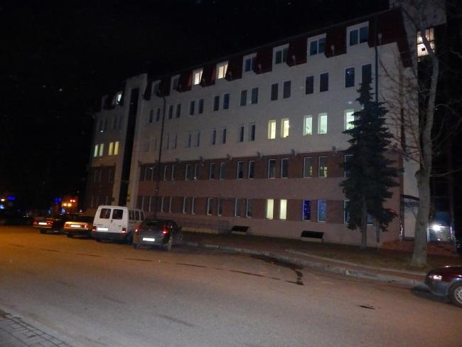 Улица Шубина вечером