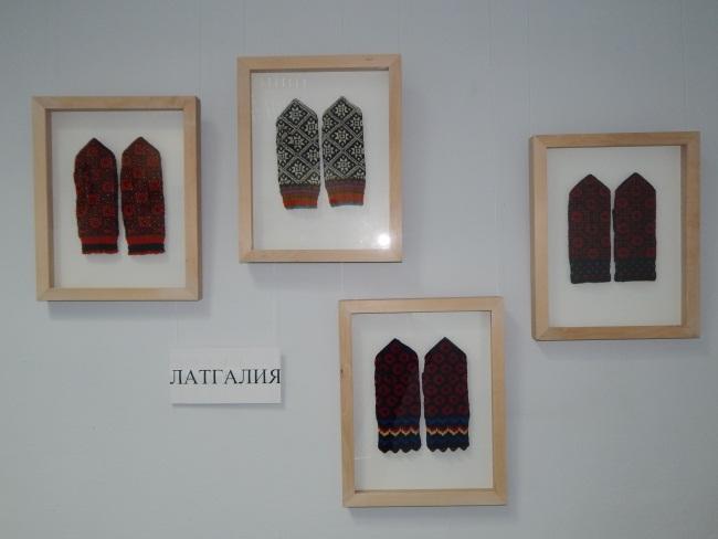 Теплые рукавички из Латгалии