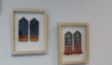 Латышские варежки привлекают необычными узорами и яркими цветами