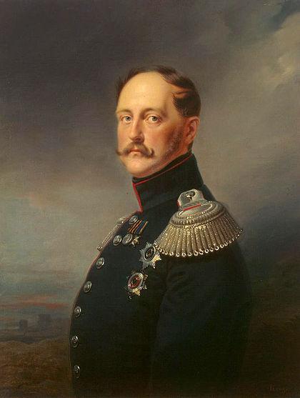 Франц Крюгер. Император Николай Первый.