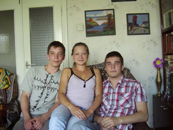Внуки витебского Валерия Чкалова. Фото из личного архива Валерия Чкалова.